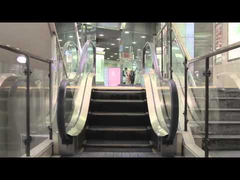 The World's Longest Video of the World's Shortest Escalator