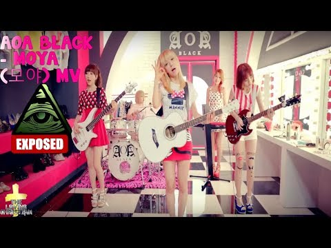 AOA BLACK - MOYA (모야) MV Illuminati Exposed