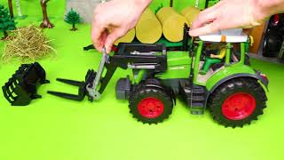 Excavator, Concrete Mixer, Fire Truck, Tractor, Police Cars & Ambulance Toy Vehicles for Kids