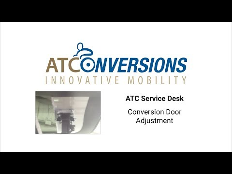 Conversion Door Adjustment