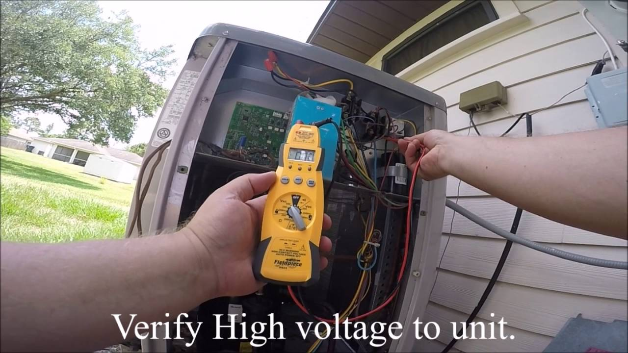 Carrier Infinity Outdoor Unit Not Coming On Youtube Electrical Wiring Lighting Contactor