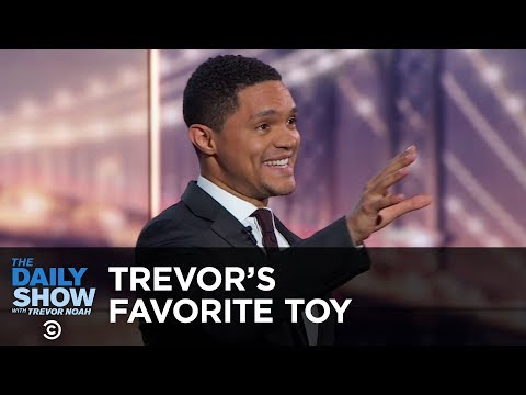 Trevor's Favorite Toy - Between the Scenes | The Daily Show thumbnail