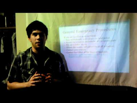 IEEE COMSOC at University of Texas at Austin Travel information video