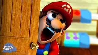 SMG4: Mario Gets His PINGAS Stuck In The Door thumbnail