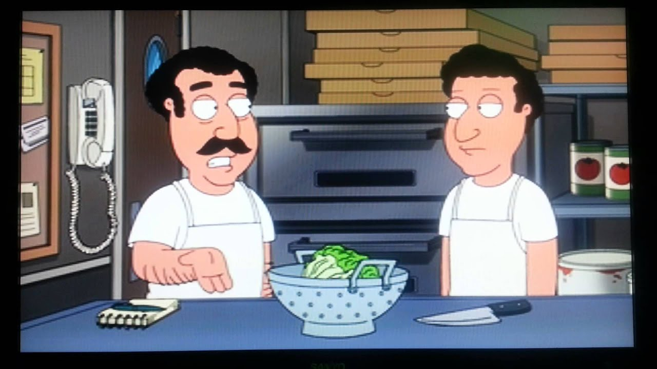 from Princeton family guy gay salad