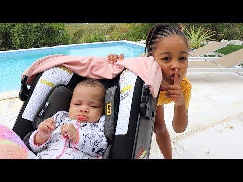 Baby Sister Hide and Seek Johny Johny Yes Papa