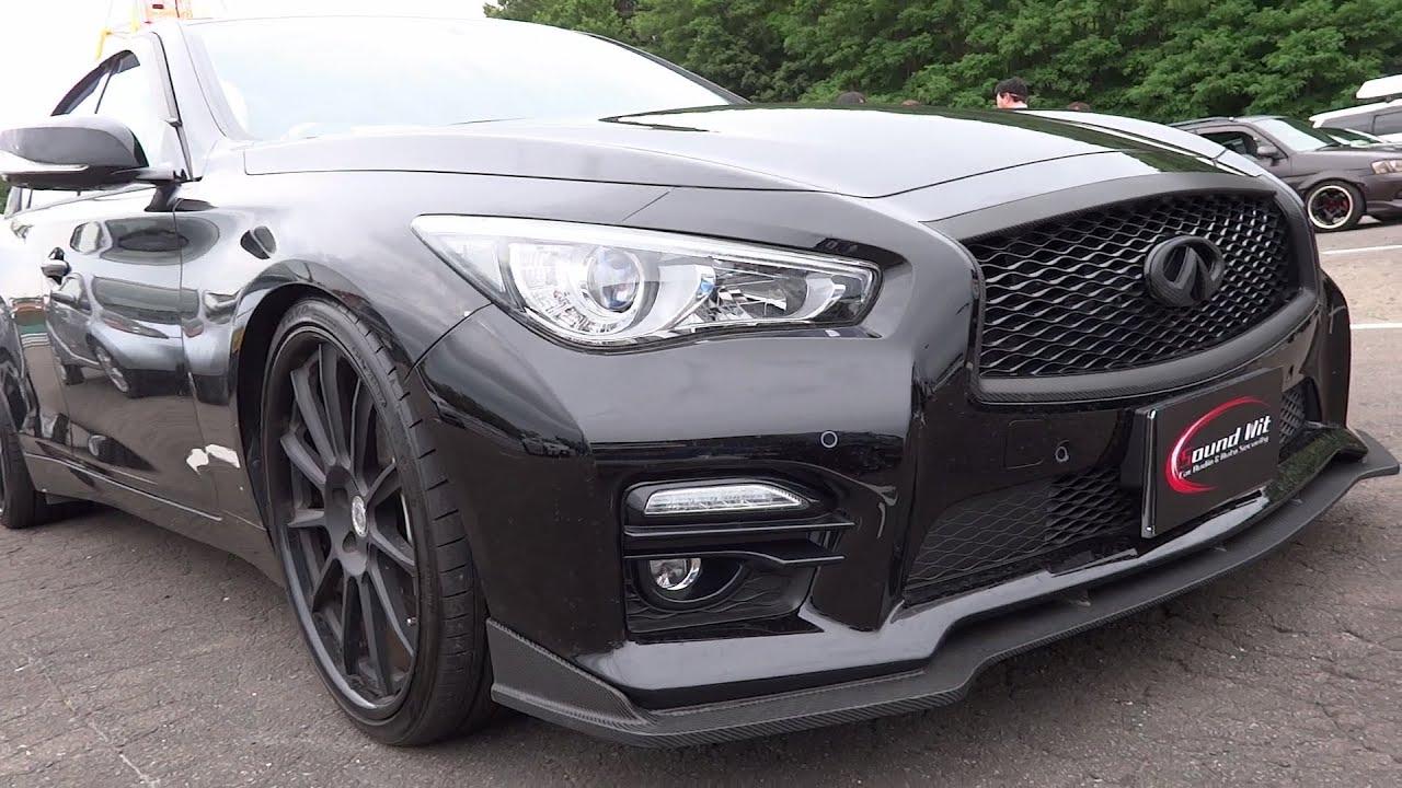 Q50 クーペ >> NISSN SKYLINE V37 custom car 日産 スカイライン V37 カスタムカー - YouTube