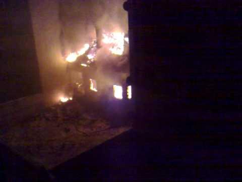 Пожар на улица Хайдушка гора (Бели брези)