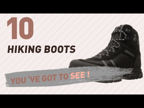Under Armour Hiking Boots For Men Collection // New & Popular 2017