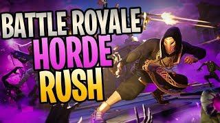Fortnite - New Battle Royale LTM Horde Rush Livestream