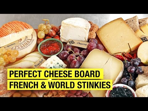 A Frenchman's Guide to The Perfect Cheese Board ! Stinky Tasting included...