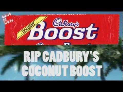 Cadburys Coconut Boost Todays Classic Bar Youtube