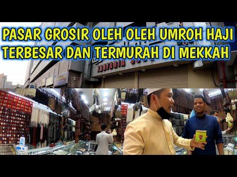 Market Tour di Pasar Madinah yang di lakukan Uthe dan Tim Jamaah Umroh di Tanah Suci, Kota Mekkah da.