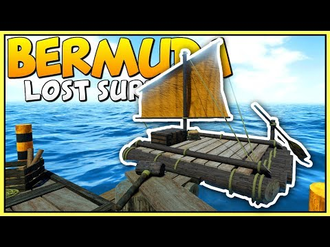 SURVIVING ON A RAFT IN THE MIDDLE OF AN OCEAN - Bermuda: Lost Survival - Let's Play Bermuda Gameplay