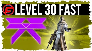 Destiny HOW to REACH LEVEL 30 SUPER FAST Level up fast in destiny level 30 RAID GEAR Strange Coins
