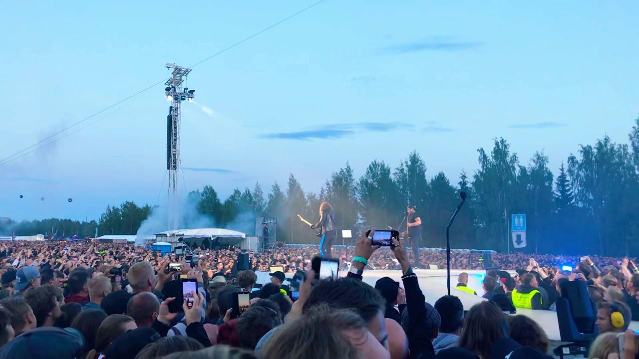 Metallica Pitkä Kuuma Kesä