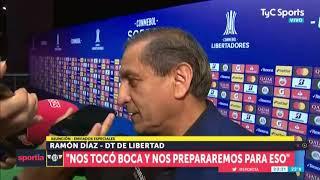 Ramón Díaz le devolvió gentilezas a Maradona y se refirió al cruce contra Boca en la Libertadores