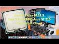 macOS Sierra 10.12.3 Core 2 Duo E8400 Asus GT 210 Hackintosh Clover
