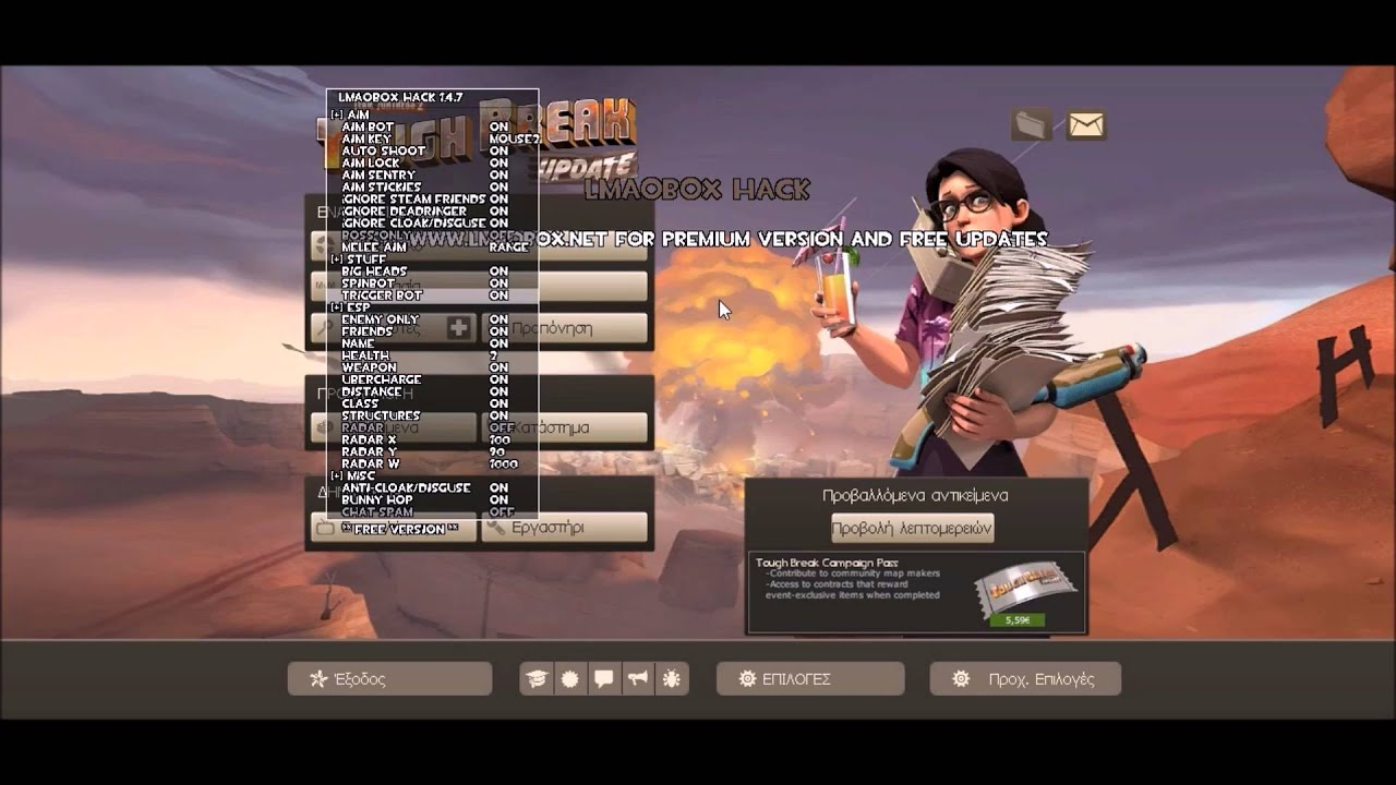 Team Fortress 2 hack aimbot - YouTube