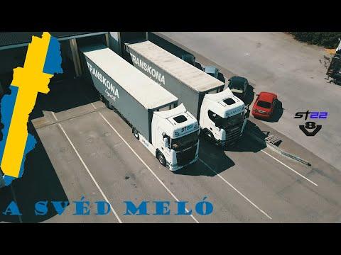 A kamionos egy napja - Svéd meló
