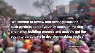 Youth (4 years of Governance Review)- Civil Society Initiative; Anchored by: Wada Na Todo Abhiyan