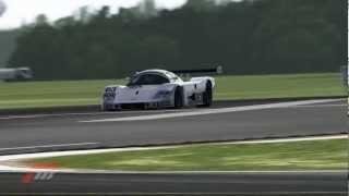 Forza Motorsport 4 August Playseat Car Pack- #63 Sauber-Mercedes C 9 vs #55 Mazda 787B (720p HD)