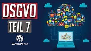 DSGVO Umsetzung - Praxis Video Teil 7: Impressum und Datenschutz