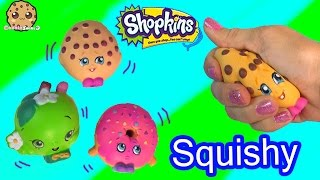 3 Shopkins Squishy Stress Balls from Season 1 Kooky Cookie Video Toy Review - Cookieswirlc