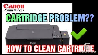 DEEP CLEANING CANON MP237