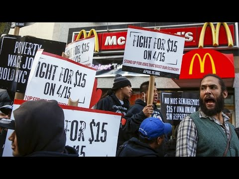 Fight for $15: Tens of Thousands Rally as Labor, Civil Rights & Social Justice Movements Join Forces