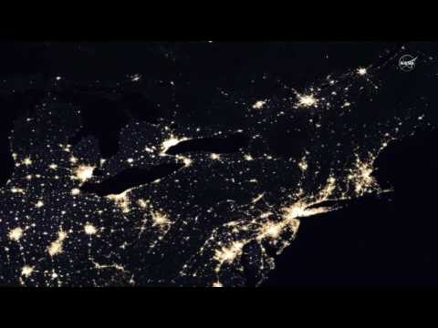 Earth At Night - New Global Maps Created From Satellite Imagery | Video