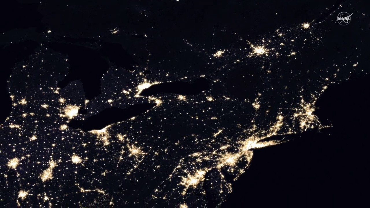 Earth At Night New Global Maps Created From Satellite Imagery