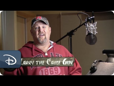 larry the cable guy records his voice track for cars land youtube
