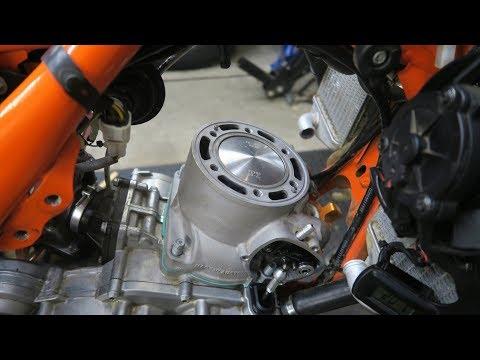2017 KTM 250 EXC Engine Top End Rebuild