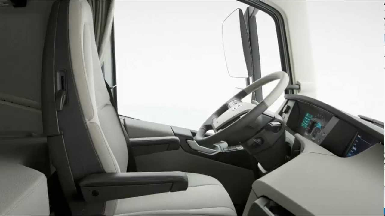 volvo trucks the new volvo fh interior youtube