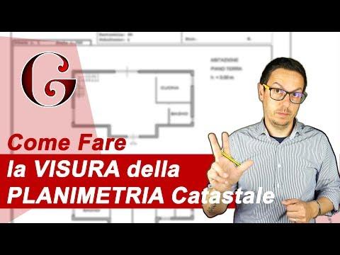 Come Fare la VISURA della PLANIMETRIA Catastale from YouTube · Duration:  12 minutes 23 seconds