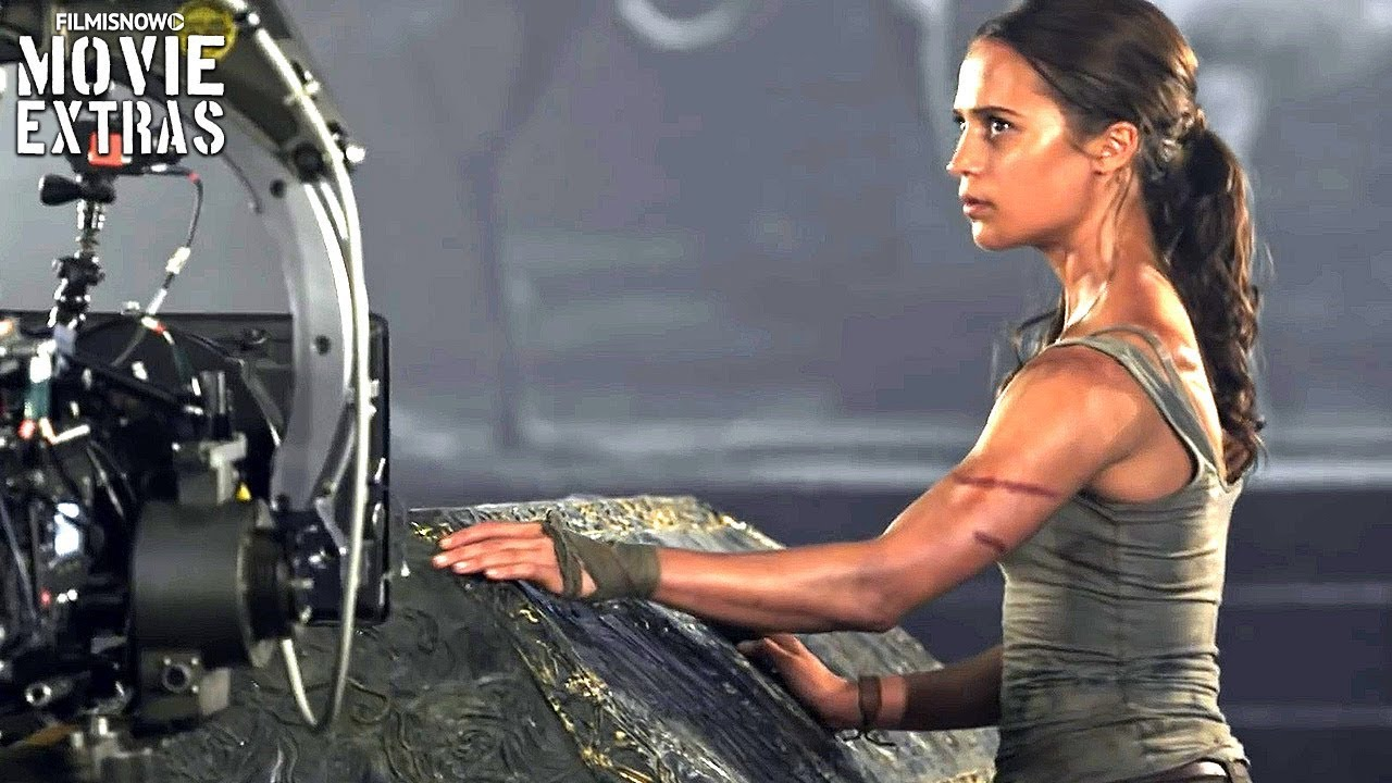 Go Behind The Scenes Of Tomb Raider 2018 Youtube
