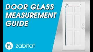 Door Measurement Guide for Door Glass Inserts
