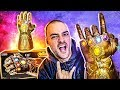 Manopla GIGANTE Articulada do Thanos Marvel Legends