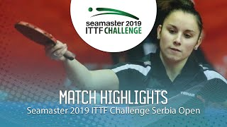 Анна Бикбаева vs Ivana Vejnovic | Serbia Open 2019 (Group)