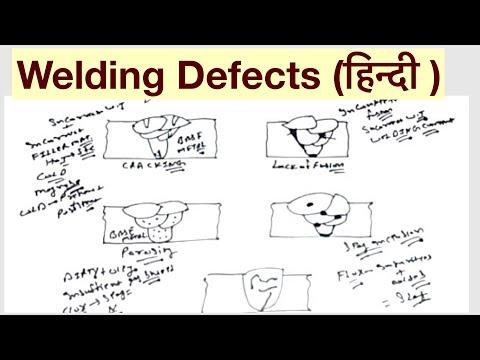 Welding Defects ह न द Youtube
