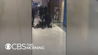 Video shows moments after police shot black man at Alabama mall