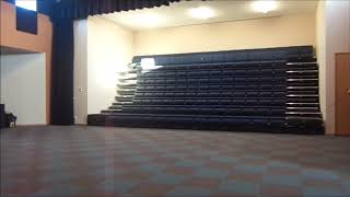 Wall Attached Retractable Seating Systems