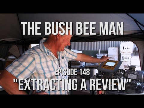 Testing A New Honey Extractor - The Bush Bee Man