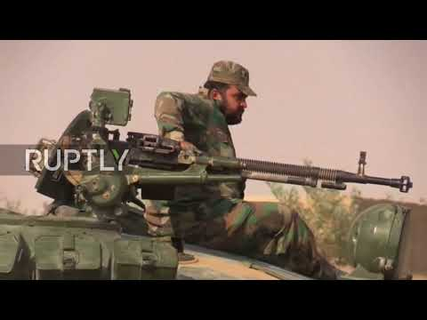 Syria: SAA in landmark Euphrates crossing to recapture further territory