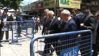 Başbakan Binali Yıldırım, Bakan Özhaseki'nin Annesinin Cenazesine Katıldı