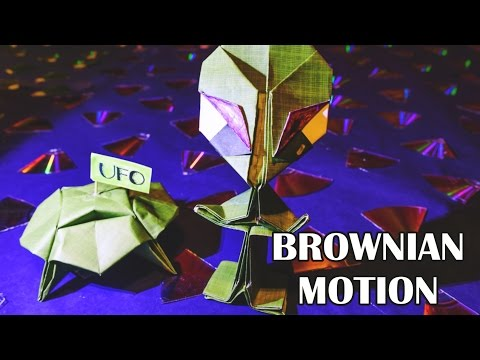 BROWNIAN MOTION (& more!) - Stop-motion Video by Diana Chao for Breakthrough Junior Challenge