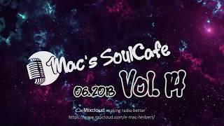 """Mac`s SoulCafe, The finest in Soul and RnB. Vol.14 """"Too funky in here"""" is on the way..."""