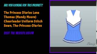 The Princess Diaries Lana Thomas  Mandy Moore  Cheerleader Uniform Stitch Sewn  The Princess Diaries
