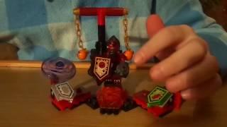Відкриваємо і збираємо невеликий набір Knights NEXO